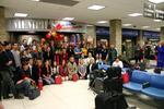 Empfang am Flughafen Memphis